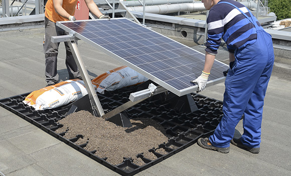 Photovoltaiksysteme Von Bauder Das Pv System F 252 R Gr 252 Nd 228 Cher